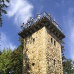 Hoch hinaus mit Gottlieb – der Daimler Turm ist geöffnet