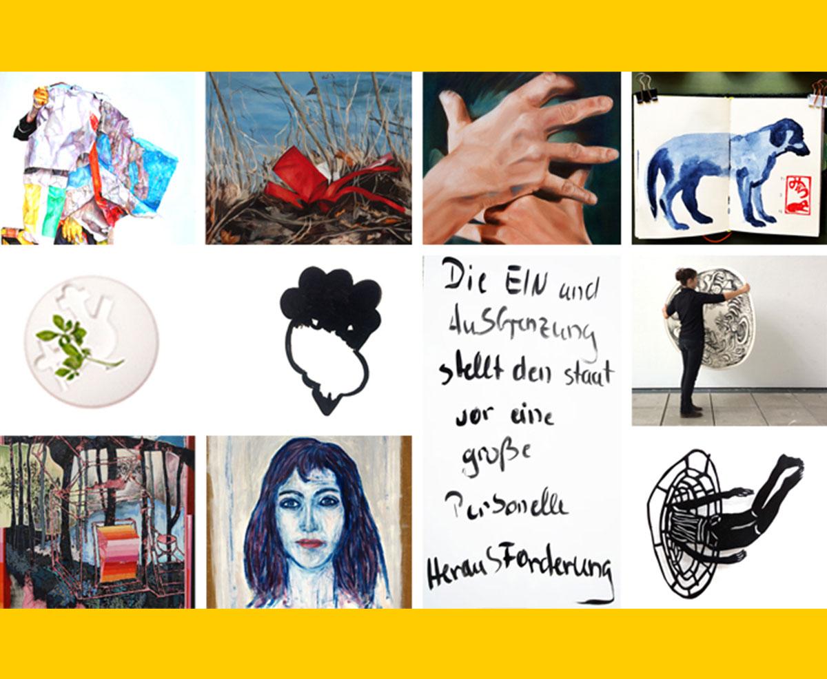 Offenes Atelier Zwölf Künstler*innen – ein Atelierhaus
